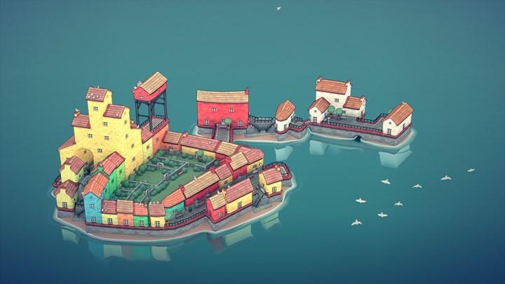 Townscaper Ekim 2021'de iOS ve Android'de