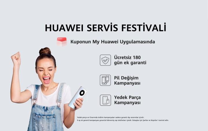 Huawei Servis Festivali başladı
