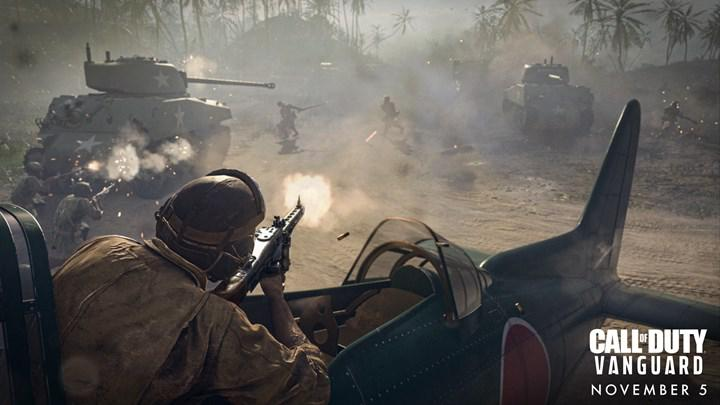 Call of Duty: Vanguard'ın multiplayer modu için video paylaşıldı