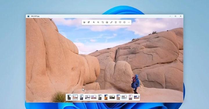 Windows 11'in yenilenmiş Fotoğraflar uygulaması ortaya çıktı
