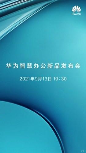 Huawei, iPhone 13 lansmanından önce yeni ürünlerini duyuracak