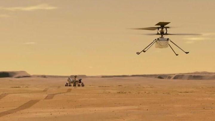 NASA'nın Ingenuity helikopterinin Mars'ta yaptığı şeyler