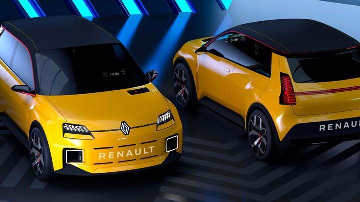 Elektrikli Renault 5, 2024'te üretime girecek