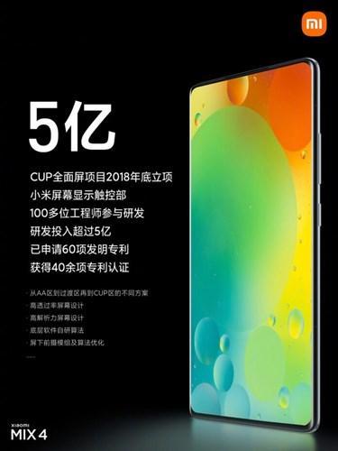 Xiaomi MIX 5'in teknik detayları netleşiyor