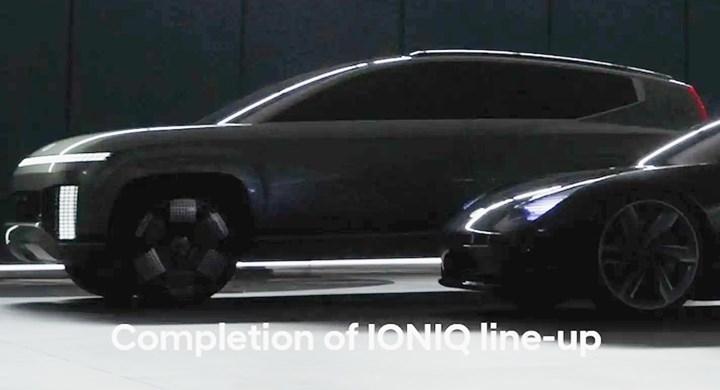 Hyundai'nin Ioniq 7 isimli elektrikli SUV modeli nasıl görünecek?