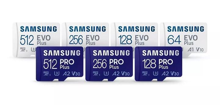 Samsung'un yeni MicroSD kartları tanıtıldı: İşte özellikleri