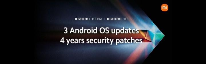Xiaomi'den 11T serisine üç Android yükseltmesi sözü