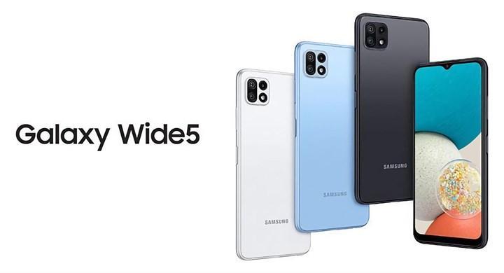 Samsung Galaxy Wide 5 tanıtıldı: İşte özellikleri ve fiyatı