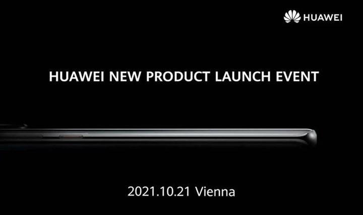 Huawei P50 serisinin global lansman tarihi ortaya çıktı