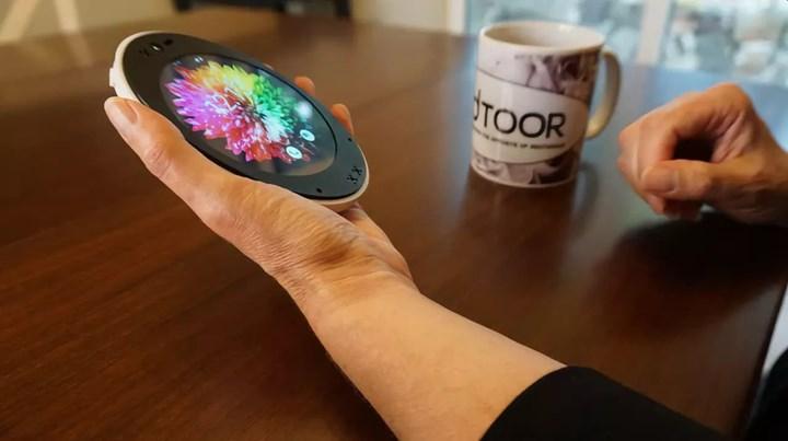 Yuvarlak akıllı telefon Cyrcle Phone 2.0 tanıtıldı