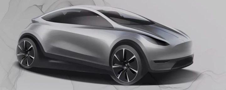 Tesla Model Q'nun olası tasarımı ortaya çıktı