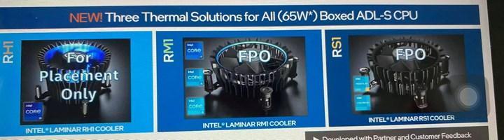 Intel'in yeni soğutucu tasarımları ortaya çıktı