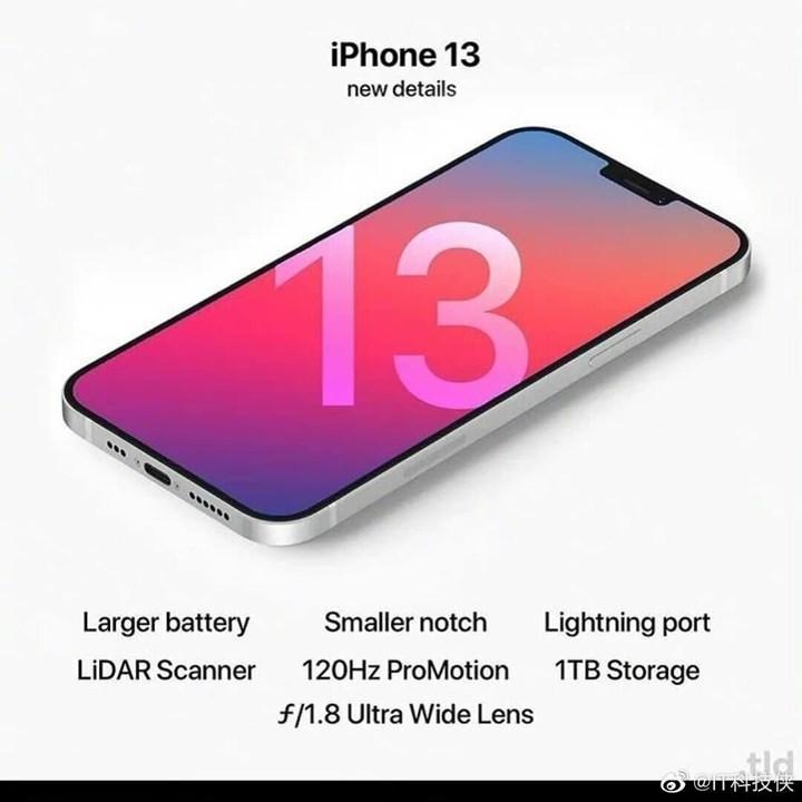iPhone 13'ün muhtemel dizaynı ortaya çıktı