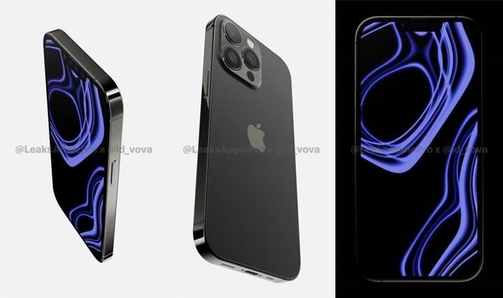 iPhone 13 Pro render görüntüleri yayınlandı