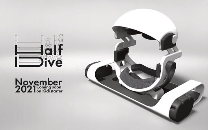 HalfDive yataklı VR