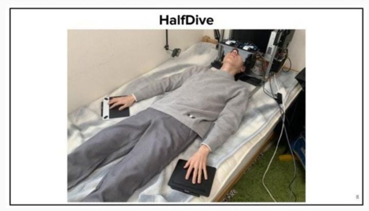 HalfDive tanıtıldı