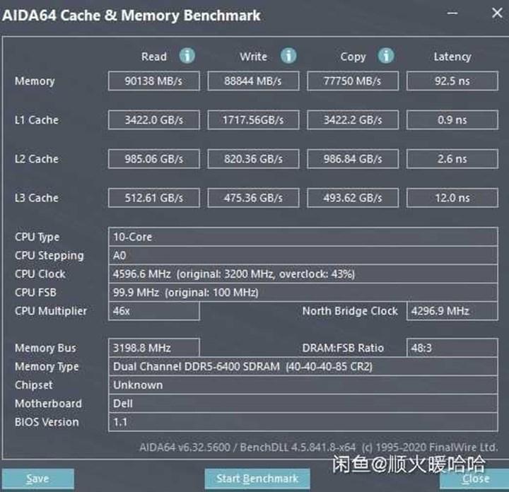 Intel 12.nesil işlemcilerin DDR5 bellek performansı sızdırıldı