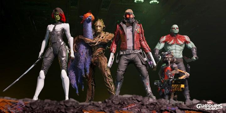 Marvel's Guardians of the Galaxy'nin yapımı tamamlandı