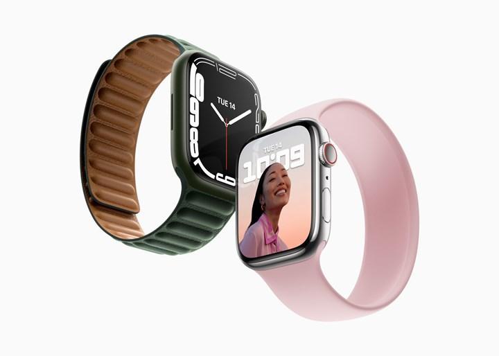 Apple Watch Series 7, önceki Apple Watch kayışlarıyla uyumlu