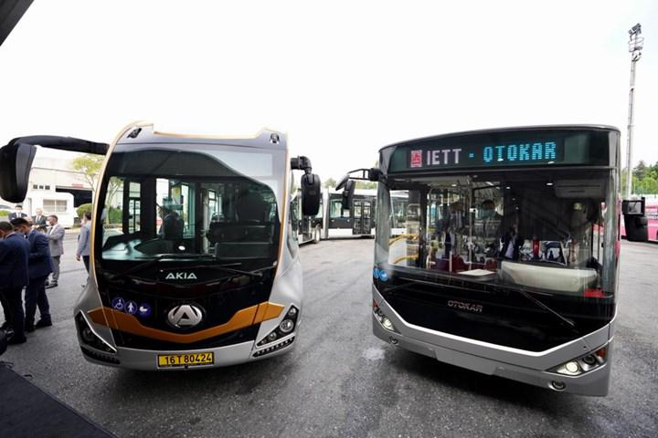 İstanbul'da metrobüs hattına 160 yeni araç alınıyor