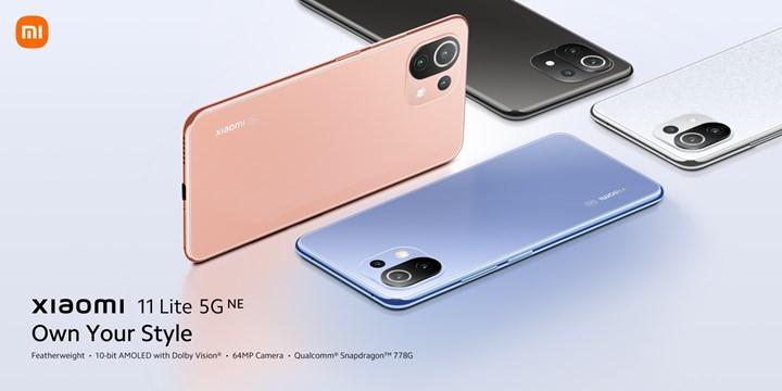 Xiaomi 11 Lite 5G NE tanıtıldı: İşte özellikleri ve fiyatı