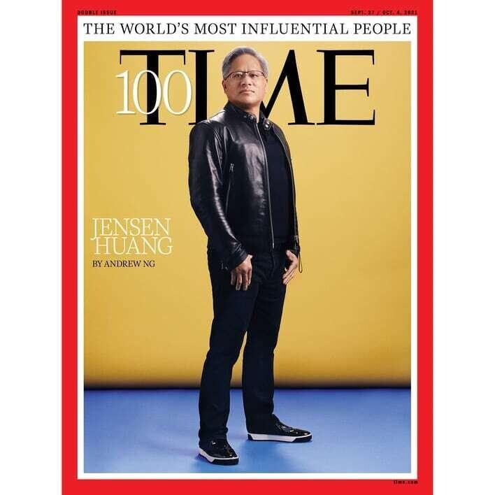 Jensen Huang en etkili kişilerden birisi