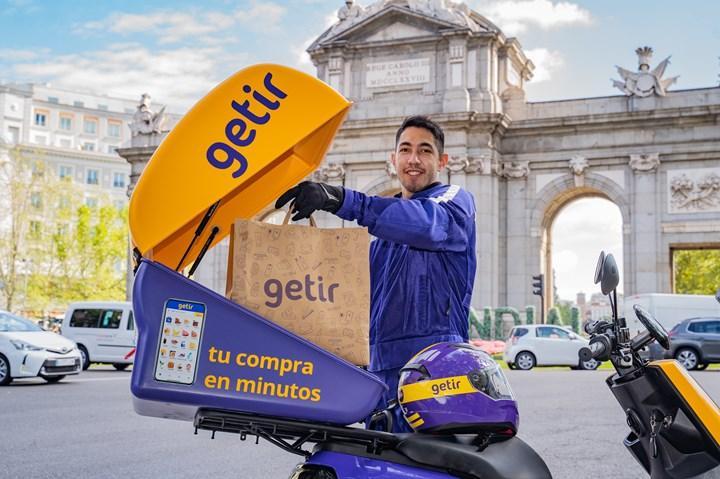 Getir, İspanya'da hizmet veriyor