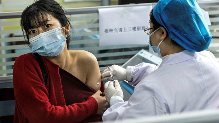 Çin, 1 milyardan fazla insanı aşıladığını açıkladı