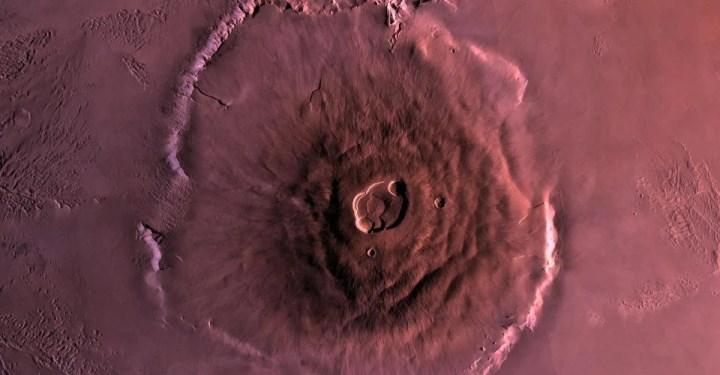 NASA, Mars'ta binlerce antik volkan patlama yaşandığını açıkladı
