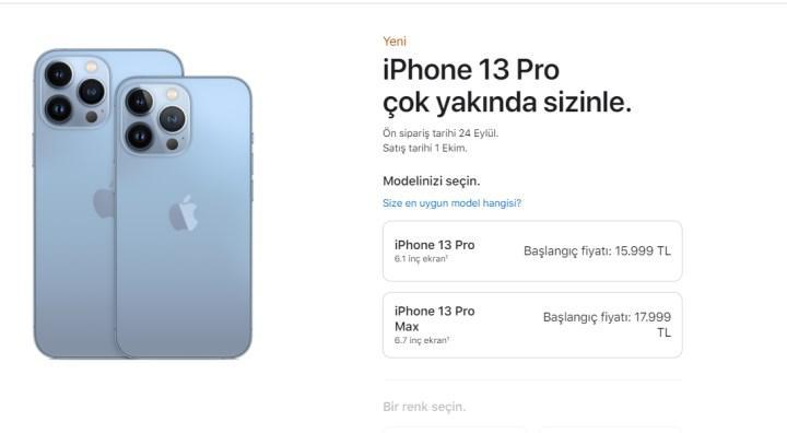 iPhone 13 Türkiye Fiyatları
