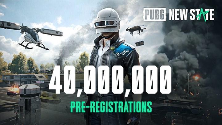PUBG New State'in ön kayıt sayısı 40 milyonu geçti