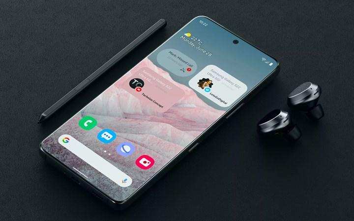 Samsung Galaxy S22, iPhone 13'ten küçük olacak
