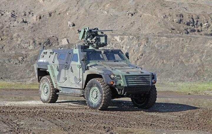 Otokar yeni zırhlı araçlarını IDEF 2021'de tanıttı