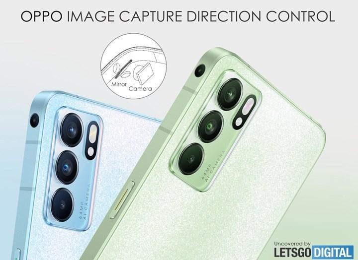 Oppo kenar kamerası