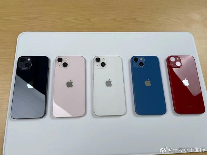 iPhone 13 serisinin tüm renklerde fotoğrafları yayınlandı