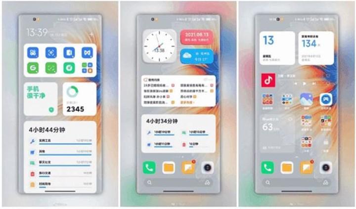 MIUI 13 ekran görüntüleri yayınlandı