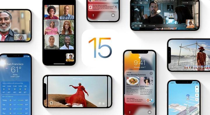 iOS 15 çıktı