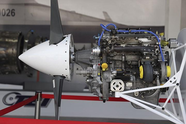 TEI, yeni İHA motorunu ilk kez TEKNOFEST 2021'de sergiledi