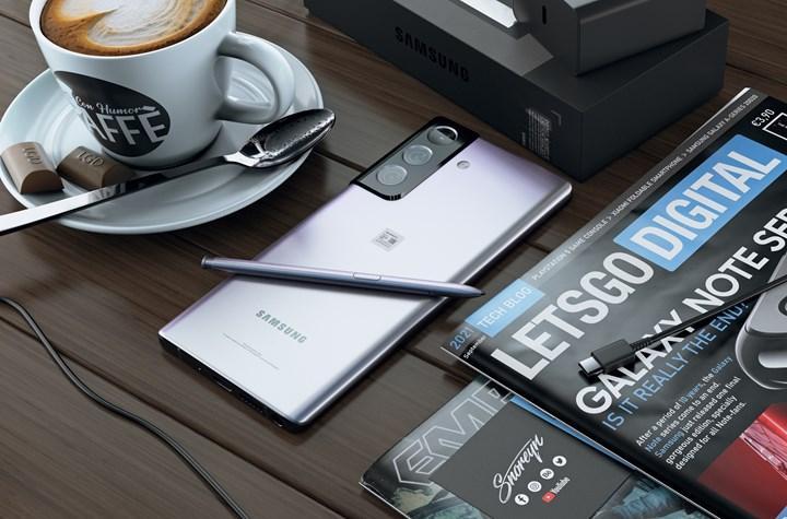 Samsung'dan katlanabilir Note modeli geliyor: Galaxy Flex Note