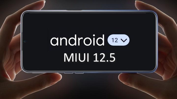 Android 12 tabanlı MIUI 12.5'in ilk halka açık sürümü yayınlandı