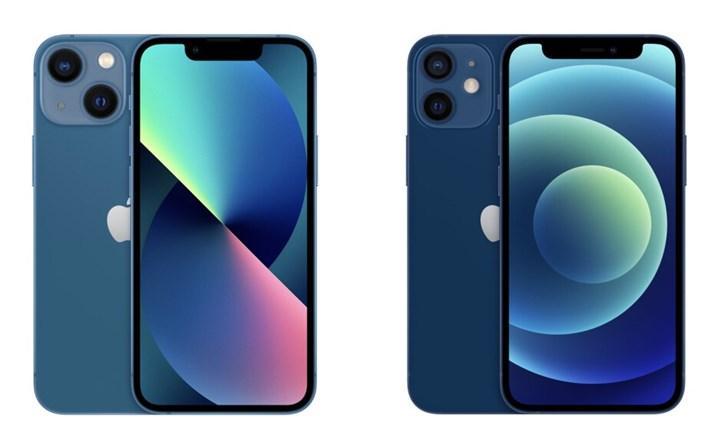 iPhone 13 mini ve iPhone 12 mini karşılaştırma