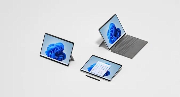 Surface Pro 8 tanıtıldı