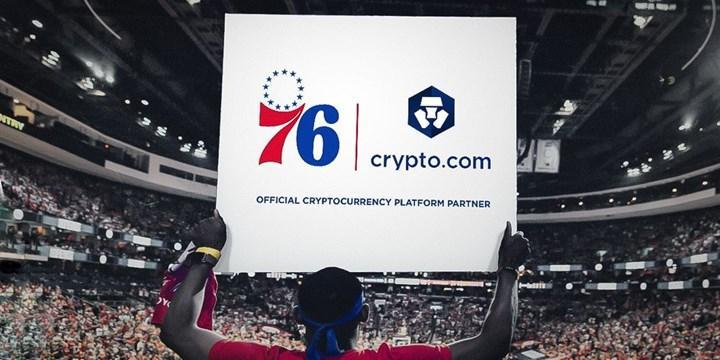 CryptoCom, NBA takımlarından Philadelphia 76ers'e sponsor oldu