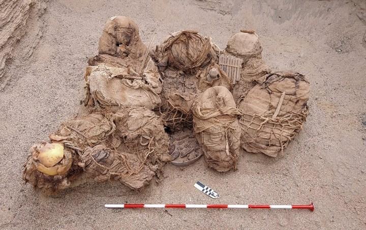 Peru'da 800 yıllık insan kalıntıları bulundu