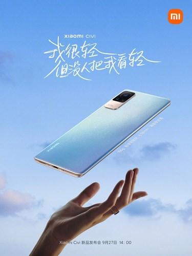 Xiaomi Civi, basın görselleri ve tanıtım videosuyla karşınızda