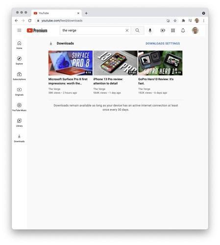 Youtube, video indirme seçeneğini masaüstüne getiriyor
