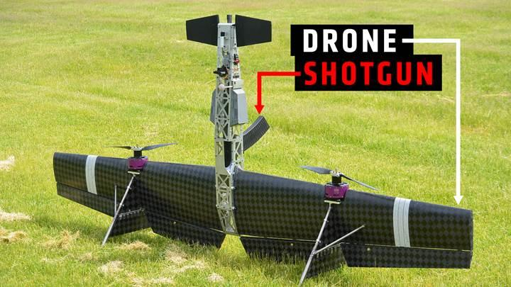 Rus firma pompalı tüfekle diğer drone'ları avlayan İHA geliştirdi
