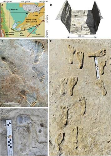 23.000 yıllık ayak izlerinin incelenmesi