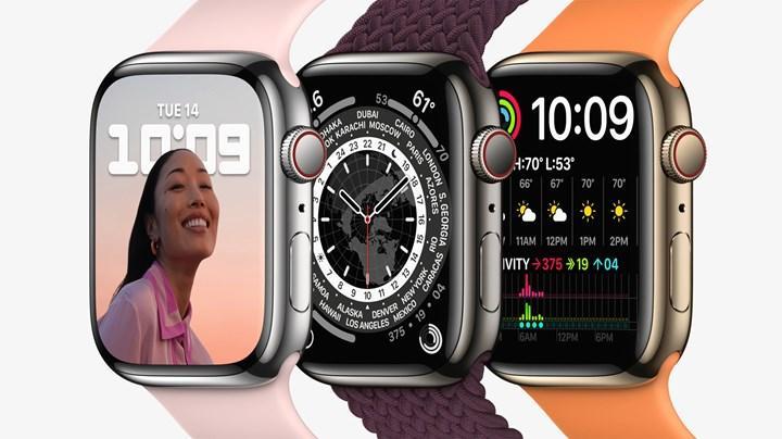 Apple Watch 7, 60,5 GHz kablosuz veri aktarımını destekliyor