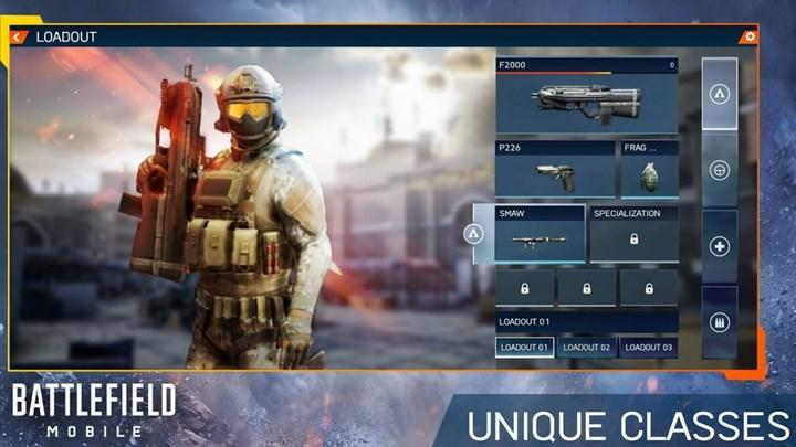 Battlefield Mobile'ın ilk oynanış görüntüleri geldi